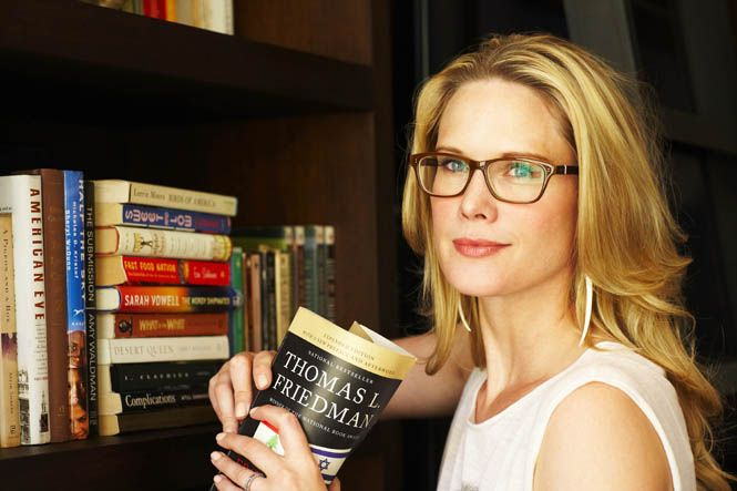 "The beautiful Stephanie March's ""You Are What You Read"""