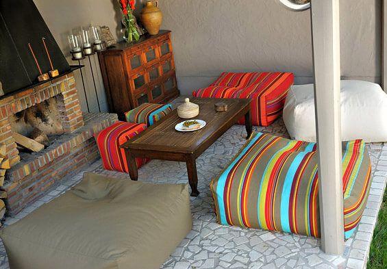 Outdoor Sitzwürfel und Loungehocker »Yucatan«