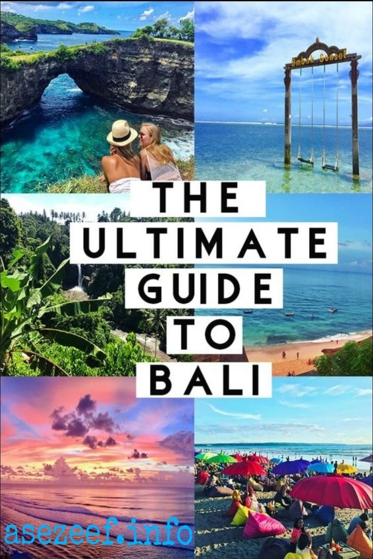 The Ultimate Bali Travel Guide – Asezeef