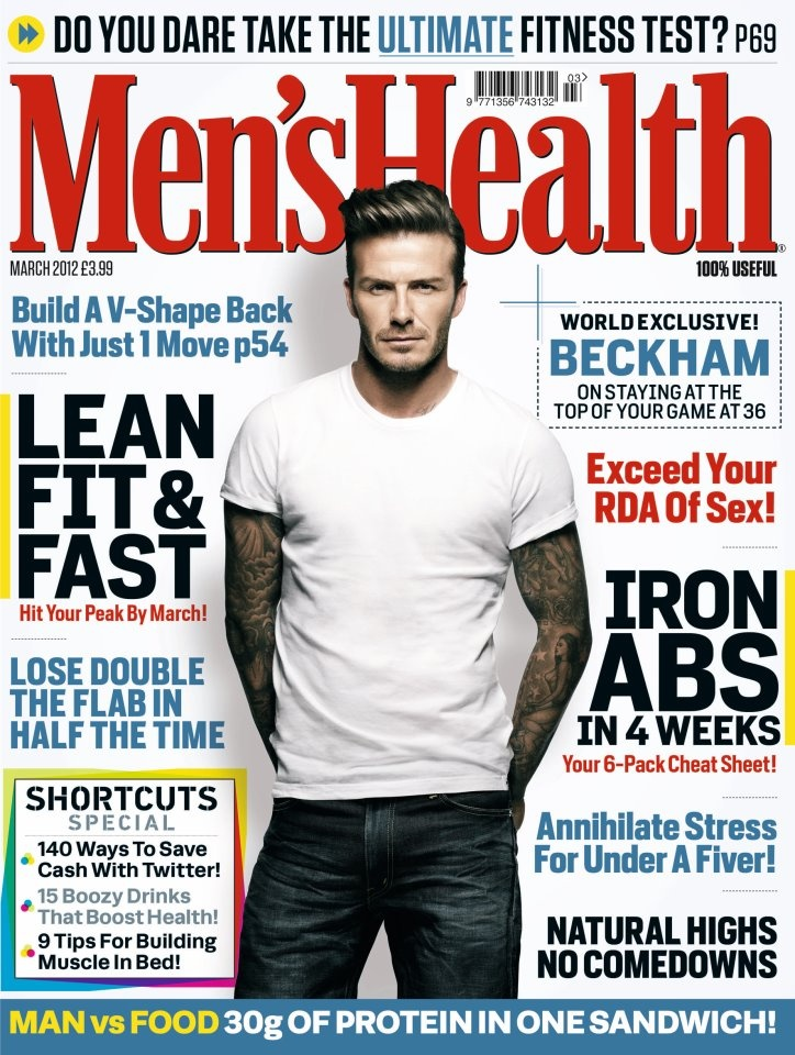 David Beckham of L.A. Galaxy uses Herbalife products to be