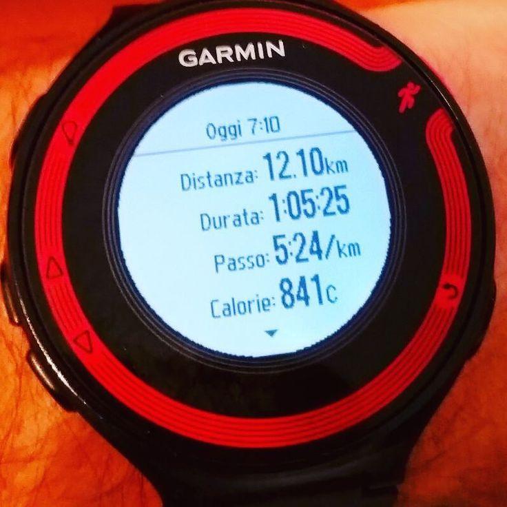 #jobdone #escisubito #instarun #igrunner @garmin @garminitaly #igersitalia @igrunners #training #corsa #instatraining #followme #followforfollow #forerunner #fr220 #nessunascusa #runlover @justrunnnxc #instamarathon #maratona #runnerscommunity #justdoit #sunday #domenica #runninginthesunshine #saucony #lamiasfida #decathlon