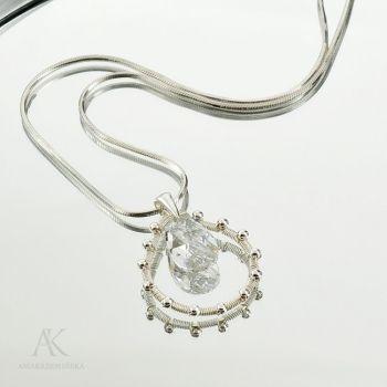 Biżuteria do ślubu - Lacrime di felicità - zawieszka