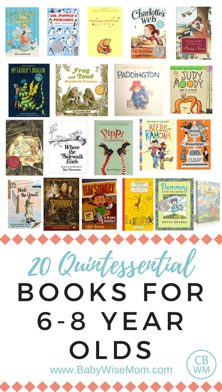 Books for 6-8 year olds. Books for elementary age children. | Book list | #booklist