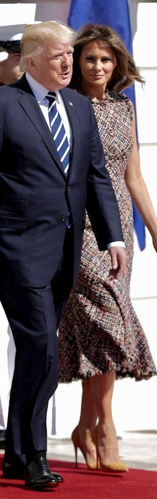 PRESIDENT & First Lady Melania Trump