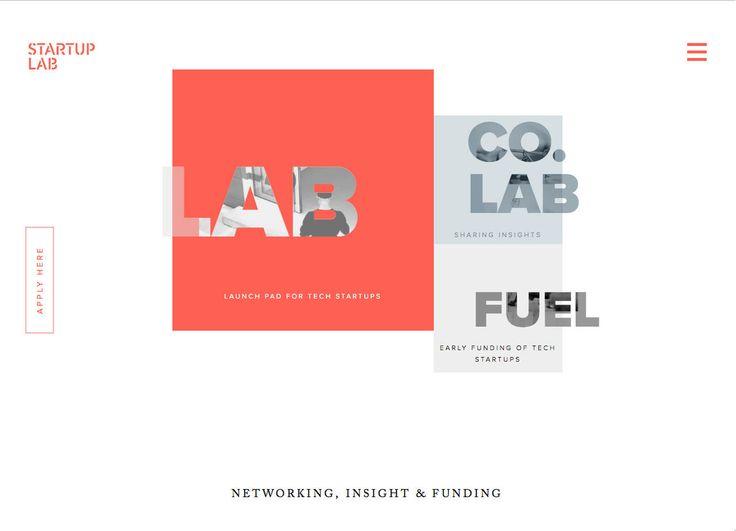 StartupLab (More web design inspiration at topdesigninspiration.com) #design #web #webdesign #sitedesign #responsive #ux #ui