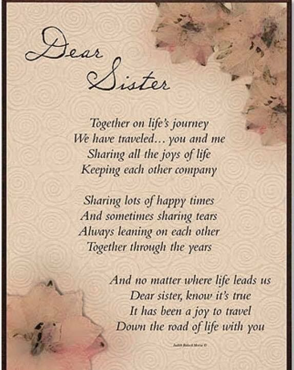 Sister Inspirational Words Of Wisdom Sister Quotes Sister