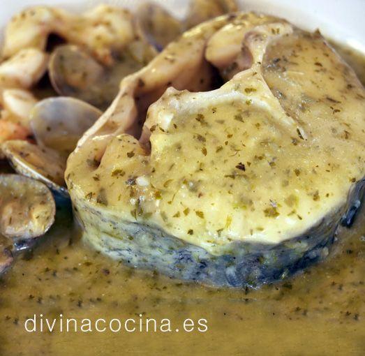 1000 images about pescados y mariscos en pinterest for Cocinar merluza a la vasca