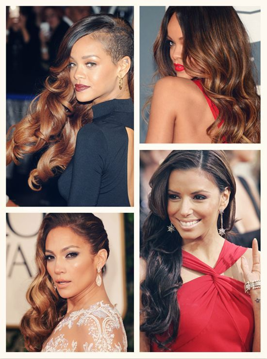 flattering hairsytle for 2013 with celebrity hair extensions clip on