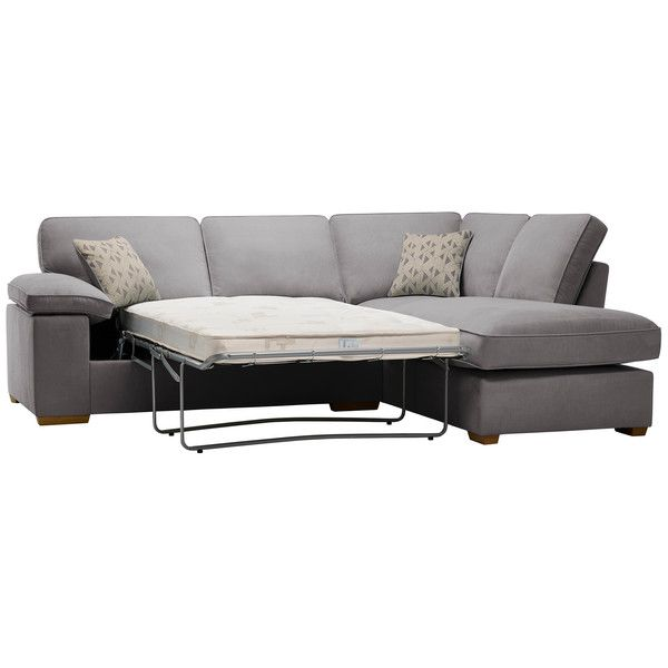 Chelsea Left Hand Corner Sofa Bed In Cosmo Pewter Corner Sofa Sofa Bed Sofa