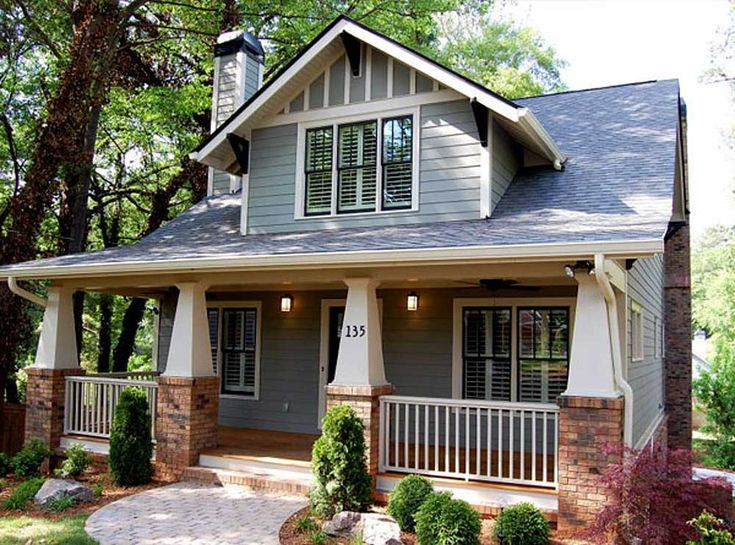 Classic Craftsman Style Cottage...Perfect for our small family with flex space for husband's home office.