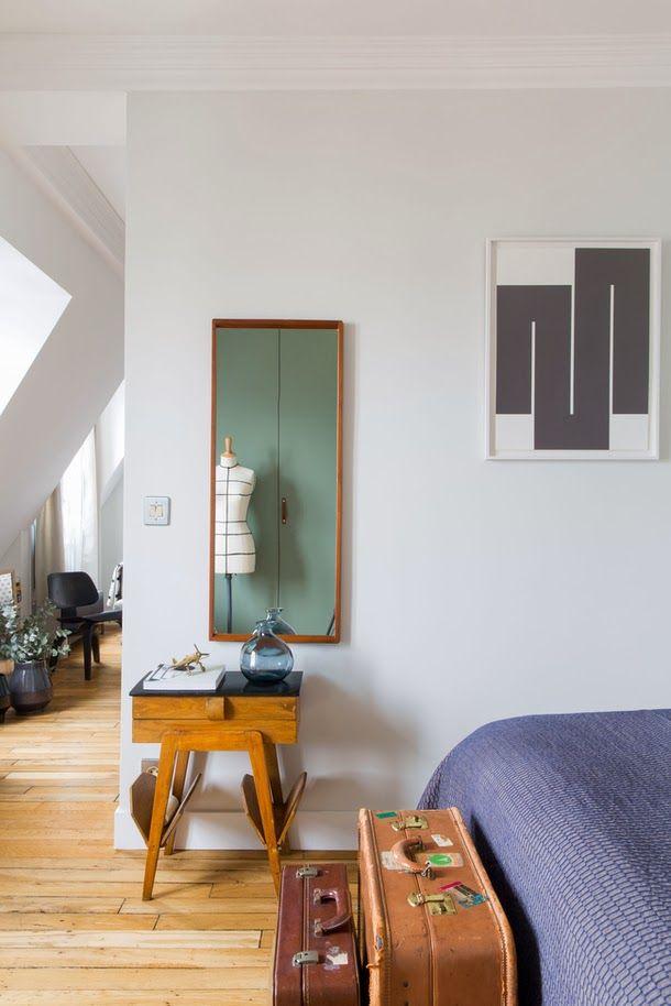 現代線條、豐富多彩的巴黎公寓,推開窗還能夠看到聖心大教堂的美景!Humbert & Poyet建築師事務所