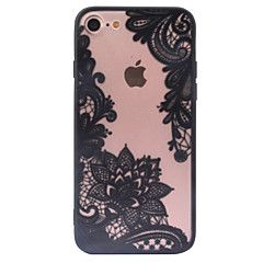 de volta Congelado / Other Lace Impressão PC Duro Retro Pattern+Relief Case Capa Para AppleiPhone 6s Plus/6 Plus / iPhone 6s/6 / iPhone