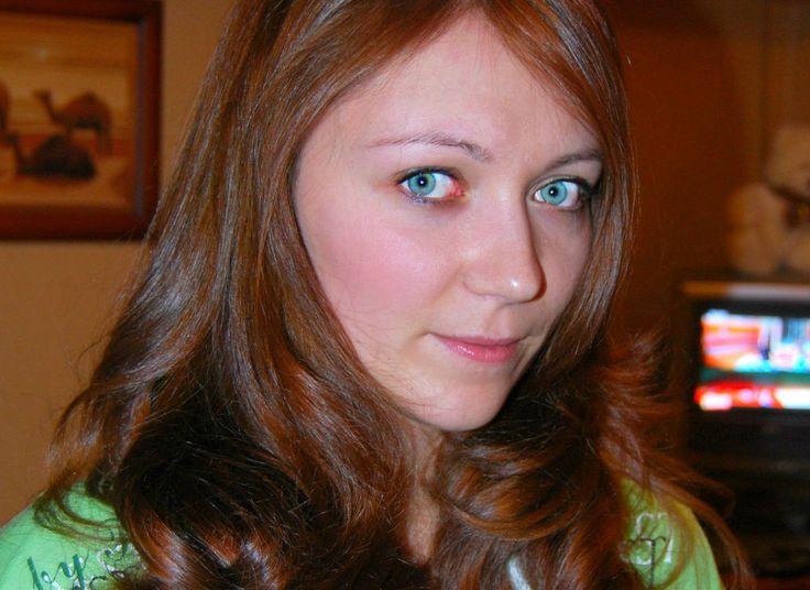 окрашивание волос цвет натуральный рыжий, золотистый и стрижка каскад
