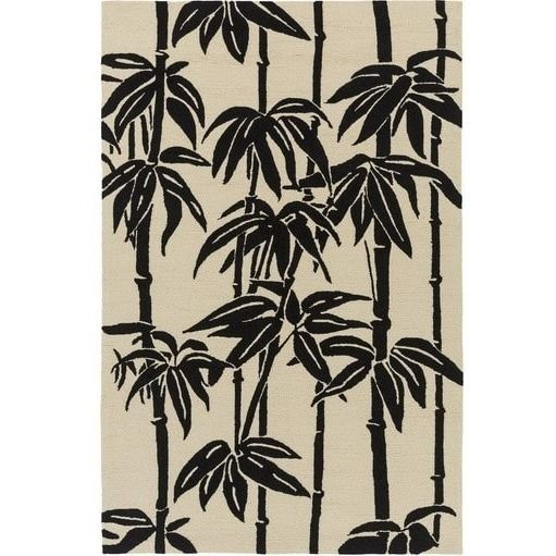 Bondi Tropical Black Outdoor Rug