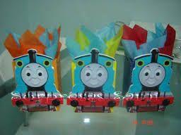 Resultado de imagen para decoracion cumplaños del tren thomas
