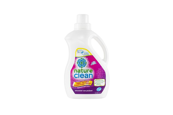 99.7% Natural Hypoallergenic Unscented Fabric Softener 1.5L   Nature Clean