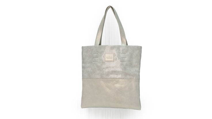 white leather bag by Gabo Szerencses