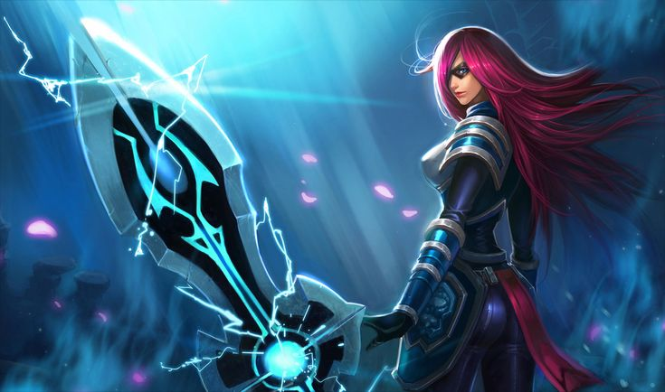 League Of Legends Game Lol Moba Miss Fortune Warrior Red | Legend games and  Gaming