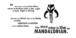 Resultado de imagen para mandalorian family quotes
