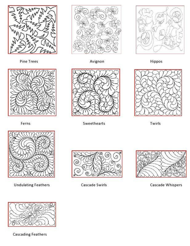 Long Arm Quilting Pattern Boards : Longarm Quilting Pattern Book Quilts Pinterest