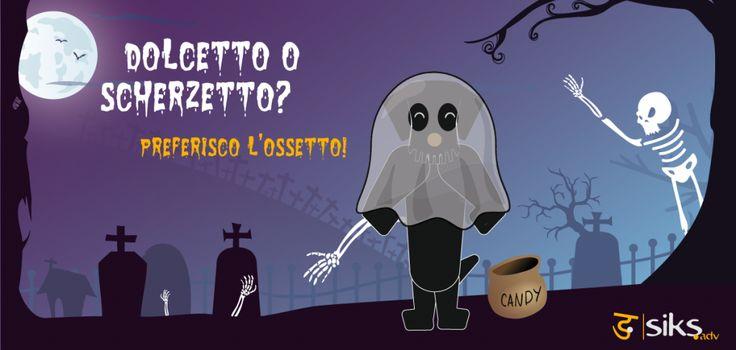 Uno spaventoso #Halloween a tutti voi! :)