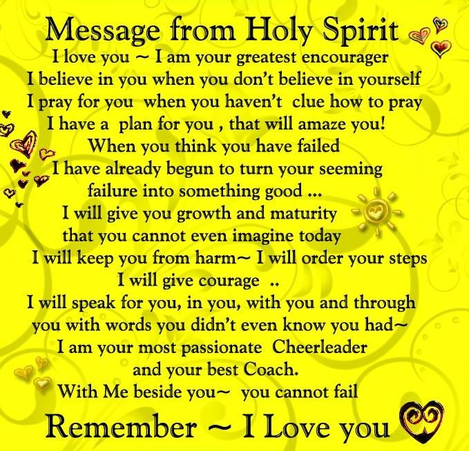 Best 25 holy spirit quotes ideas on pinterest words of jesus grateful for the gift of the holy spirit negle Image collections