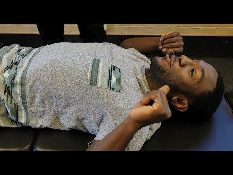 STRESS RELIEF* First Time FULL BODY *Y-Strap* Chiropractic Crack