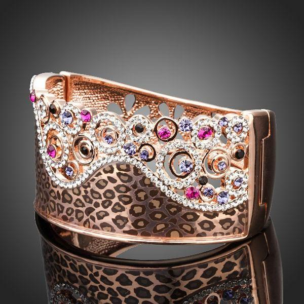 Flower Tiger Bracelet