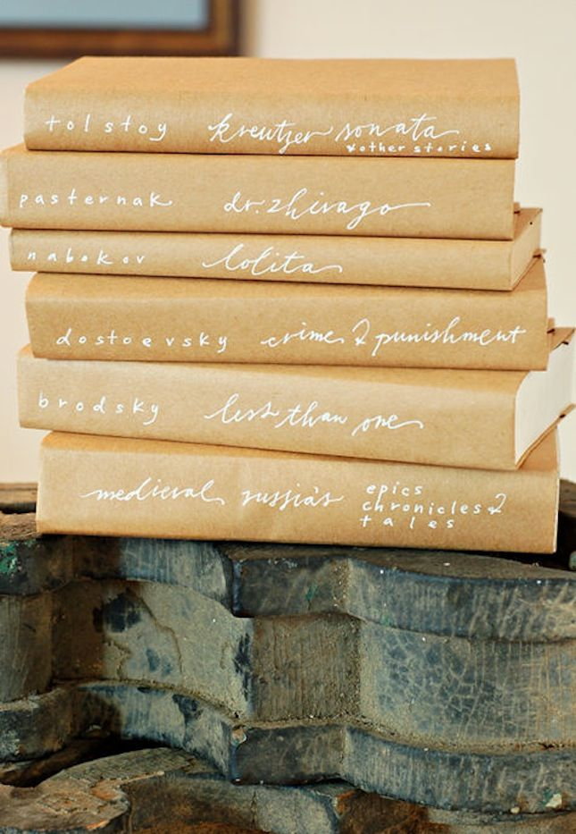 17 New Ways to Cover Your Books | Brit + Co