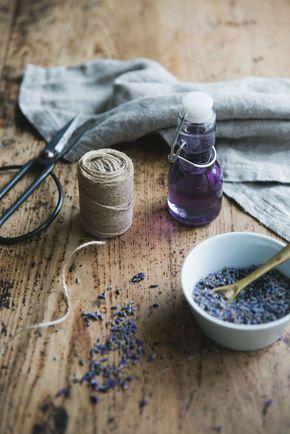 ... diy lavender syrup ...