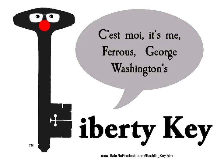 """Book:  """"George Washington's Liberty Key:  Mount Vernon's Bastille Key -- the Mystery and Magic Behind Its Body, Mind, and Soul"""""""