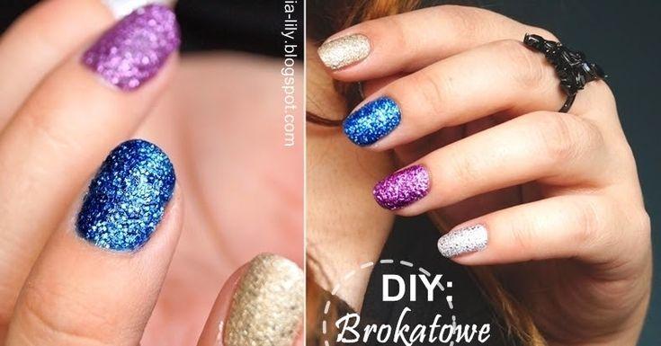 natalia-lily: Beauty Blog: *Sylwestrowe/brokatowe paznokcie* DIY: Jak zrobić samemu brokatowy piaskowy lakier krok po kroku?