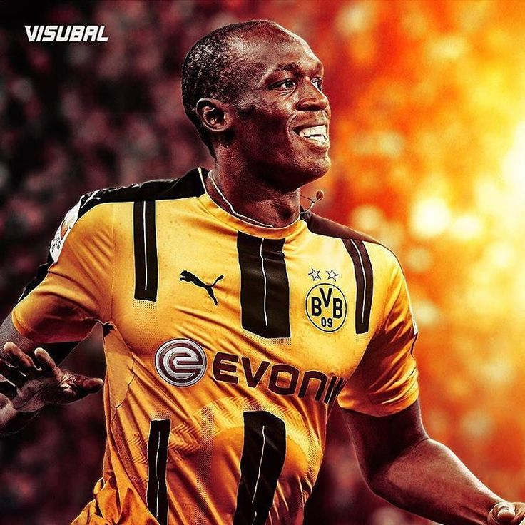 Usain Bold the soccer player?! Bolt is set to train with BorussiaDortmund. Do you think he can make the transition? Let us know on instagram...