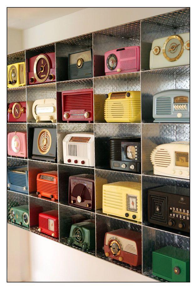 coleções de rádios