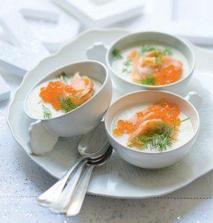 and smoked salmon panna cotta a z recipes mindfood smoked salmon ...