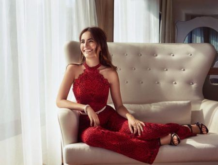 Camilla Belle Wears Glamorous Style for Hello! Fashion November 2016