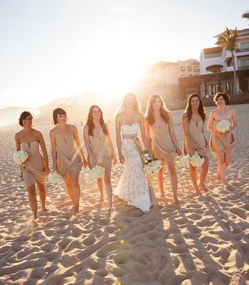 Real Wedding: Rachael and Burton - Cabo San Lucas, Mexico