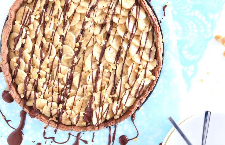 Bananasplit taart – SINNER SUNDAY