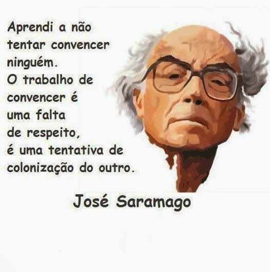 Clube de leitores: Foto frase do Dia: José Saramago