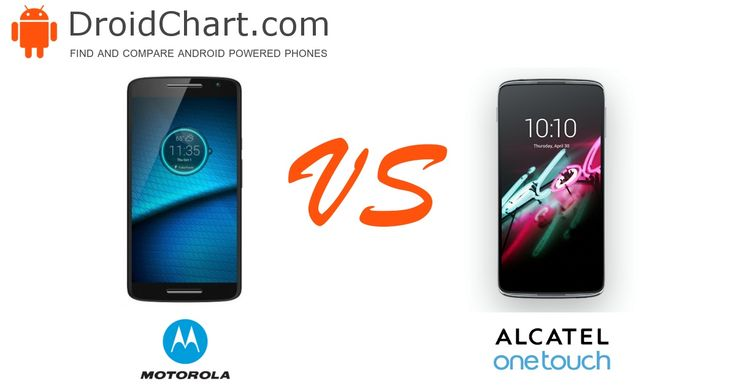 The side-by-side comparison of the Motorola Droid MAXX 2 and Alcatel Idol 3 5.5 smartphones.  #smartphone #comparison #Motorola #DroidMAXX2 #Alcatel #Idol3