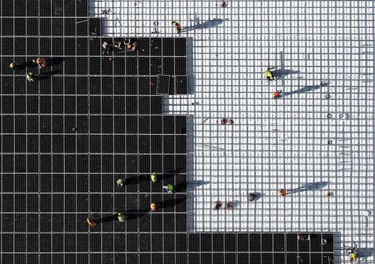 Gallery of See the Construction of Renzo Piano's Stavros Niarchos Foundation Cultural Centre From Above - 10