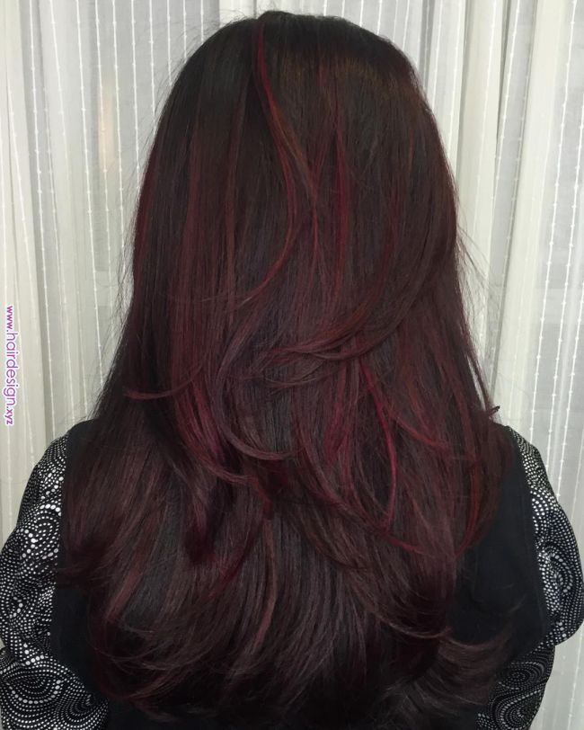 50 Striking Dark Red Hair Color Ideas Bright Yet Elegant Colors In 2019 Pinterest Hair Dark Red Hair Dark Red Hair Color Dark Red Hair Red Hair Color
