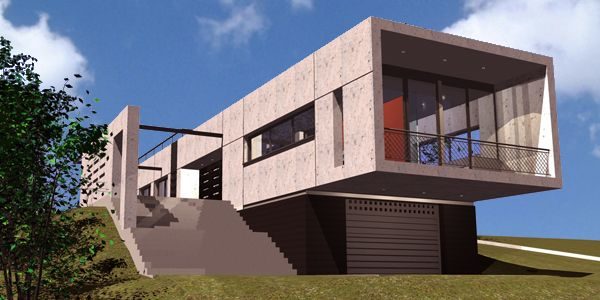 """Casa Fibonacci tubo"" Autor: Antonio Cazorla ( Estudio Arquivall BCN Proyectos )"