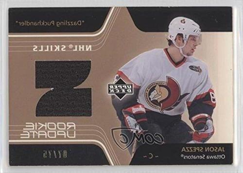 Jason Spezza #7/75 (Hockey Card) 2003-04 Upper Deck Rookie Update - NHL Skills #SK-JS