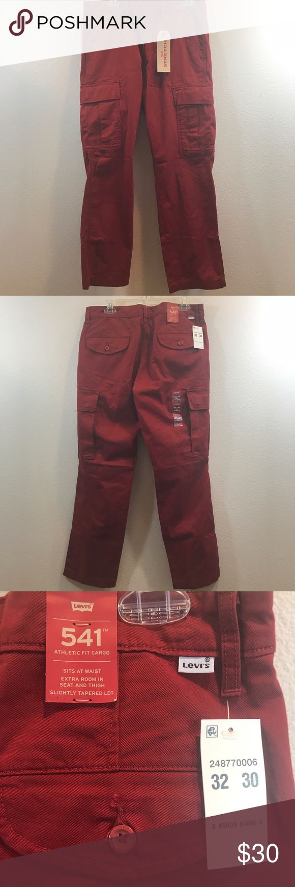 🆕 LEVIS 541 STRETCH MEN'S JEANS PANTS WAIST 32 🆕 Waist: 32 Inches Length: 38 Inches Inseam: 30 Inches  Jeans are BRAND NEW WITH TAGS!!! Price is firm and non negotiable. Levi's Jeans Relaxed