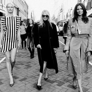 Zien: Kendall Jenners risqué lingerielook shop je straks ook op Vogue Fashion's Night Out.