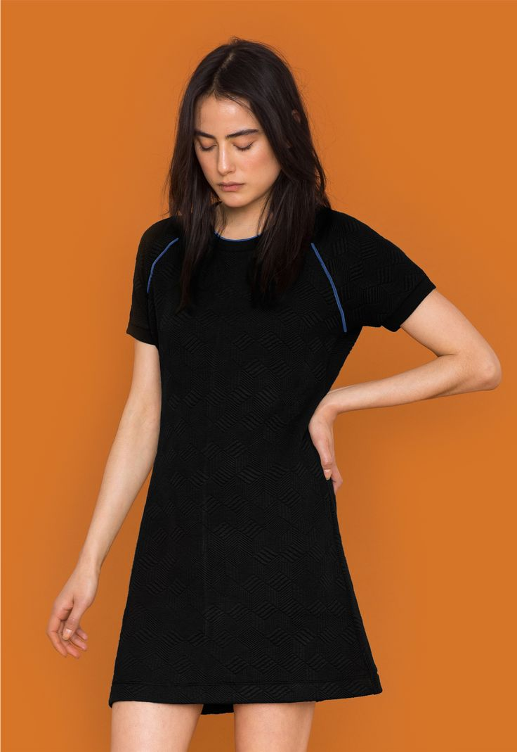 Jaquard mini jurk > Dames jurken & rokken | gsus