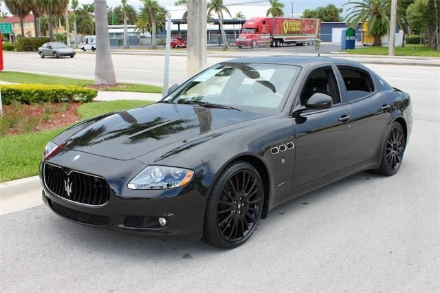 2013 Maserati Quattroporte SportGTS Sport GT S 4dr Sedan Sedan 4 Doors Black for sale in Fort lauderdale, FL Source: http://www.usedcarsgroup.com/used-maserati-for-sale-in-fort_lauderdale-fl