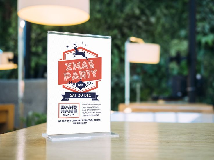 Print Flyers for Christmas for your Venue - 12 Ideas to get your Christmas Promotions Rocking!