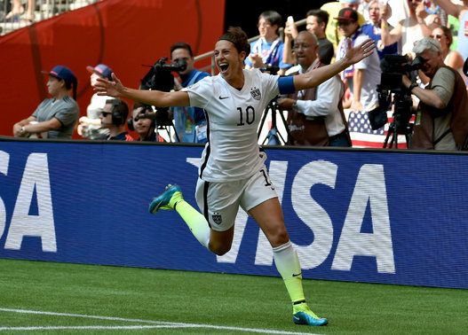 U.S.A. Beats Japan 5-2 To Win Women's World Cup